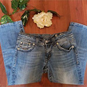 Miss Me Crop Capris Jeans